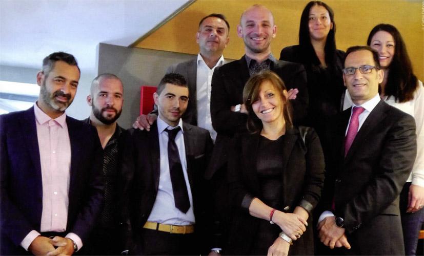 L'équipe d'Eurocapi