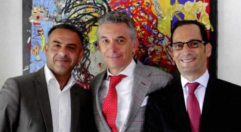 Vincent Caschera et Wilfrid Touitou présents depuis la création